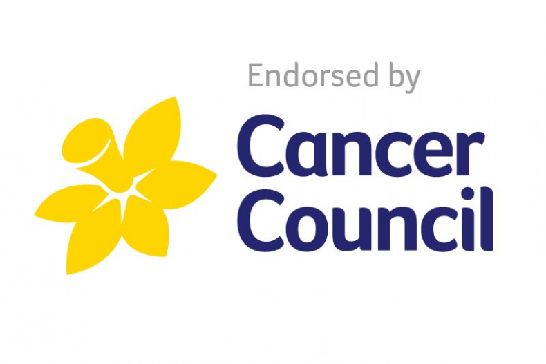 Endorsed by Cancer Council