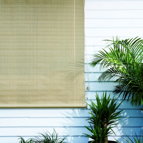 Outdoor window blinds for exterior coolaroo - Coolaroo exterior retractable window shades ...