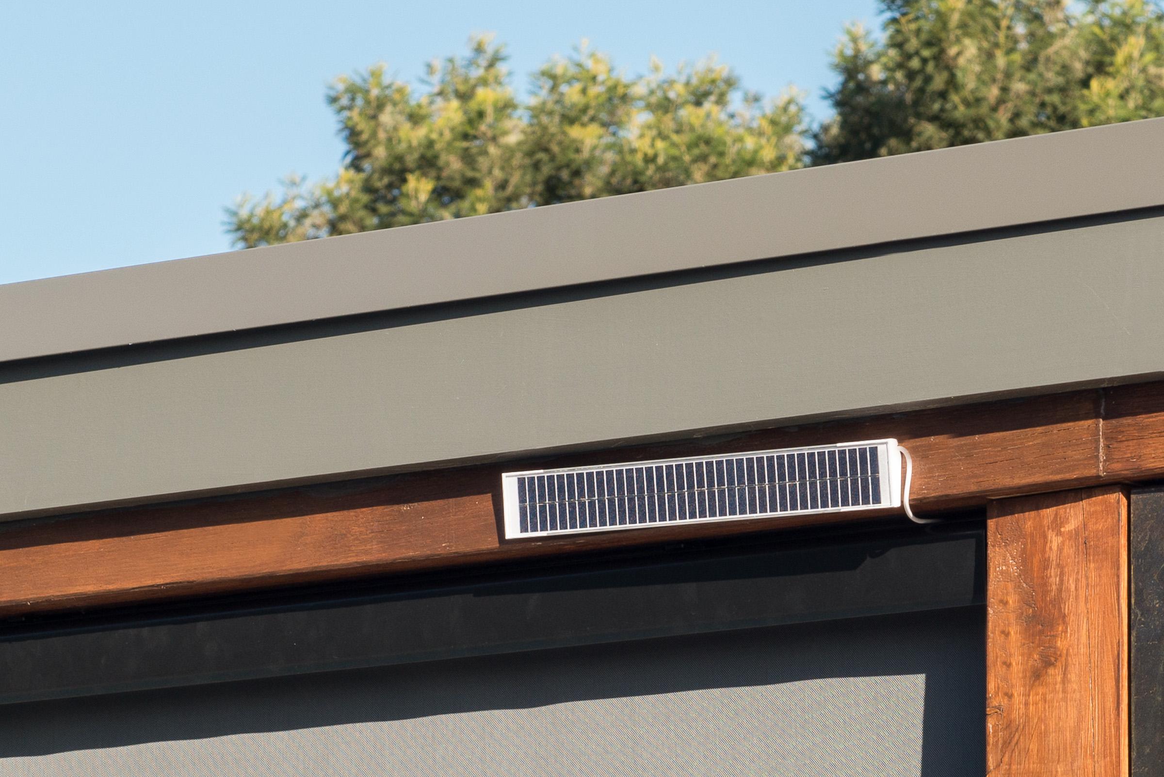 Solar Motorised Exterior Blind Coolaroo