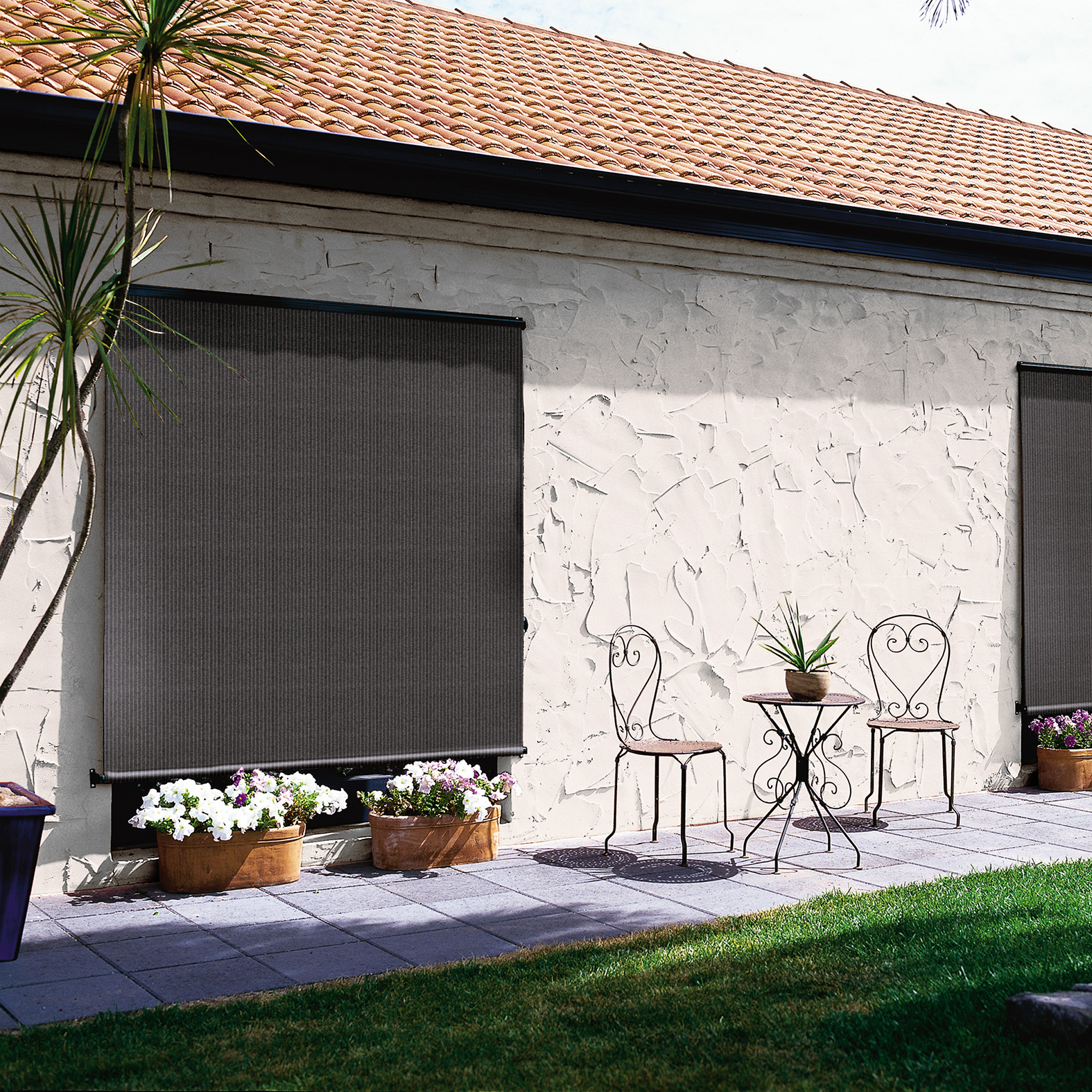 Home Products Exterior Roll Up Blinds