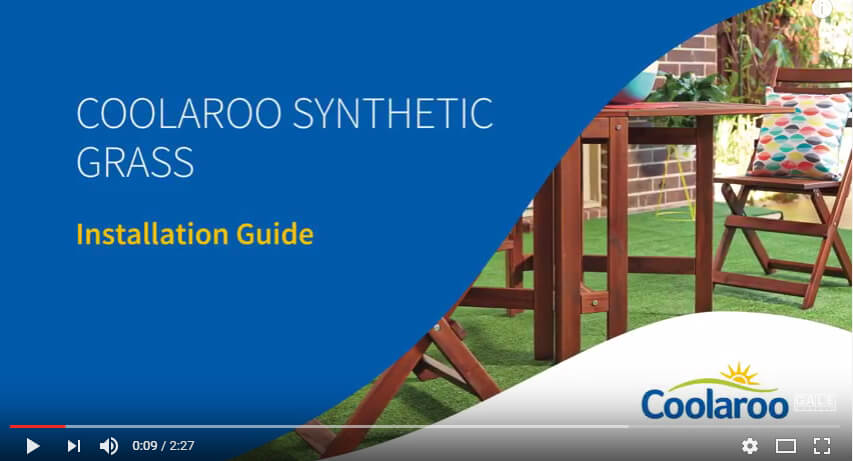Installing Coolaroo Synthetic Grass